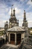 Regaleira宫殿,金塔da Regaleira在辛特拉,葡萄牙 库存图片
