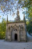 The Regaleira Chapel of Sintra, Portugal. Chapel of The Quinta da Regaleira Palace, Sintra, Portugal Stock Images