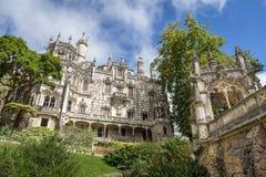 regaleira för da quinta Sintra portugal royaltyfri fotografi