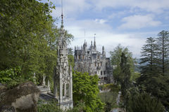 The Regaleira Palace (known as Quinta da Regaleira) located in Sintra, Portugal Stock Photography