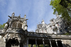 The Regaleira Palace (known as Quinta da Regaleira) located in Sintra, Portugal Stock Photos