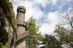 The Regaleira Palace (known as Quinta da Regaleira) located in Sintra, Portugal Stock Image