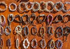 Regali dei ricordi dei braccialetti dei braccialetti Fotografia Stock Libera da Diritti