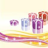 Regali del nuovo anno Fotografia Stock
