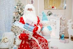Regali del ` s del nuovo anno e di Santa Fotografia Stock Libera da Diritti
