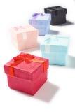 Regali di giorno di biglietti di S. Valentino piccoli Fotografie Stock Libere da Diritti
