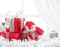 Regali di Natale Fotografie Stock Libere da Diritti