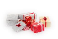 Regali di Natale Fotografia Stock