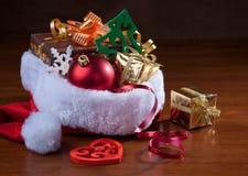 Regali di Natale. Fotografia Stock