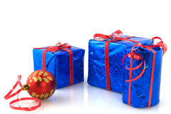 Regali di Natale Immagini Stock