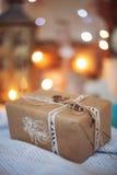 Regali di Natale decorati Fotografia Stock Libera da Diritti