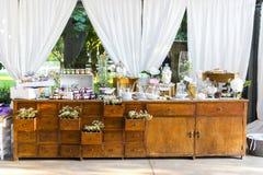 Regali di nozze per l'ospite Fotografie Stock Libere da Diritti