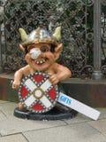 Regali di Viking da vendere a Copenhaghen Immagine Stock