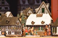 Regali leggiadramente alla notte di Natale in Austria Immagini Stock Libere da Diritti