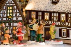 Regali leggiadramente alla notte di Natale in Austria Fotografia Stock Libera da Diritti