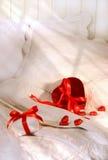 Regali per il giorno del biglietto di S. Valentino Fotografia Stock Libera da Diritti
