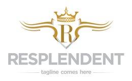 Regality loga szablon Obraz Royalty Free