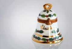 Regalo Bell de la Navidad Imagen de archivo libre de regalías