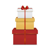 Regalo Boxes Imagenes de archivo
