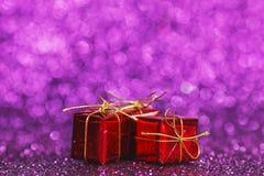 Regalo Boxes Foto de archivo libre de regalías