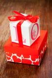 Regalo Boxes Immagine Stock