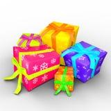 Regalo Boxes Fotografia Stock Libera da Diritti