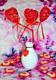 Regalo con amor Imagen de archivo libre de regalías