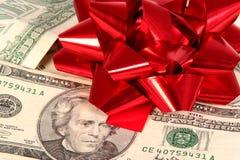 Regalo costoso Foto de archivo libre de regalías