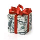Regalo costoso Fotografía de archivo libre de regalías
