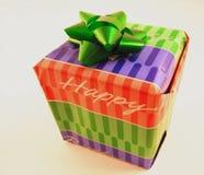 Regalo de cumpleaños Foto de archivo libre de regalías