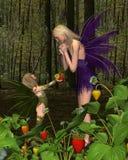 Regalo de hadas del día de madre Imagen de archivo libre de regalías