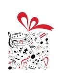 Regalo de la música ilustración del vector