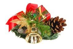 Regalo de la Navidad Foto de archivo
