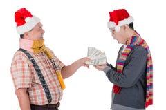 Regalo de la Navidad fotos de archivo libres de regalías