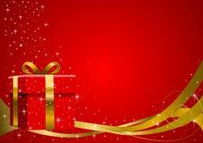 Regalo de la Navidad ilustración del vector