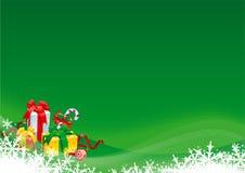 Regalo de la Navidad Fotos de archivo
