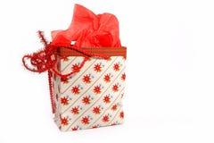 Regalo de la Navidad imágenes de archivo libres de regalías