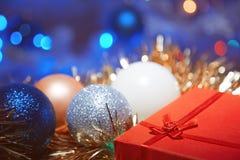 Regalo de la Navidad Imagen de archivo