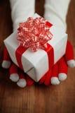Regalo de la Navidad para usted Fotos de archivo libres de regalías