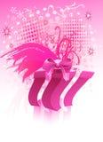 Regalo de la Navidad - vector Imagen de archivo libre de regalías