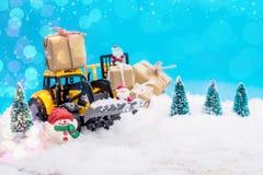 Regalo de la Navidad y del Año Nuevo Imagen de archivo libre de regalías