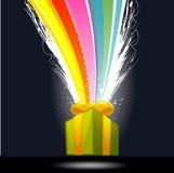 Regalo de la sorpresa Imagen de archivo libre de regalías