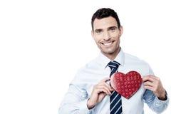 ¡Regalo de la tarjeta del día de San Valentín a mi amor! Fotos de archivo libres de regalías
