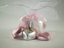 Regalo de las tarjetas del día de San Valentín Imagenes de archivo