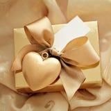 regalo de las tarjetas del día de San Valentín Imagen de archivo