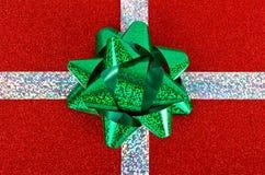 Regalo de Navidad. Foto de archivo