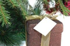Regalo de Navidad Foto de archivo