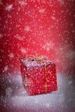 Regalo de Navidad Imágenes de archivo libres de regalías