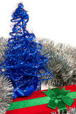 Regalo de Navidad Foto de archivo libre de regalías