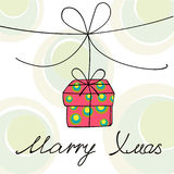 Regalo de Navidad Imagenes de archivo